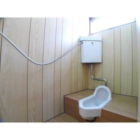 福島荘 202号室のトイレ