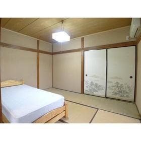 藤田荘 1号室のリビング