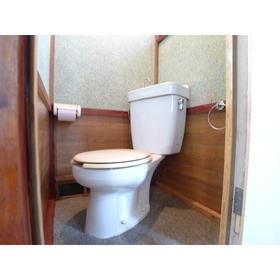 藤田荘 1号室のトイレ