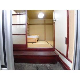 藤田荘 1号室の玄関