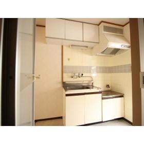 山口コーポⅡ 205号室のキッチン