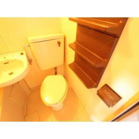 山口コーポⅡ 205号室のトイレ