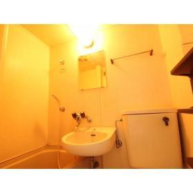 山口コーポⅡ 205号室の洗面所