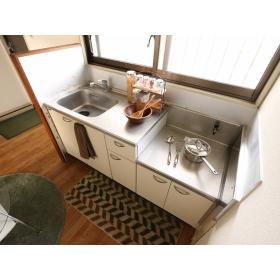 コーポ富士見 203号室のキッチン