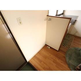 コーポ富士見 203号室の洗面所