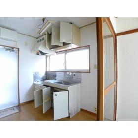 サンハイツ 203号室のキッチン
