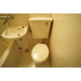 ララ南林間 204号室のトイレ