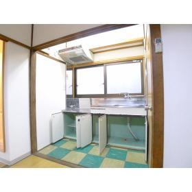 コーポ山本 202号室のキッチン