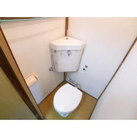 コーポ山本 202号室のトイレ
