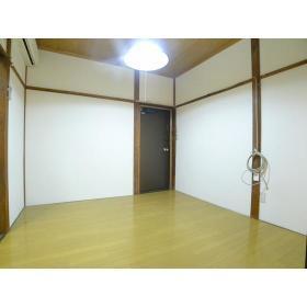 コーポ山本 202号室の玄関