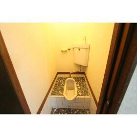 代官ハイツ 102号室のトイレ