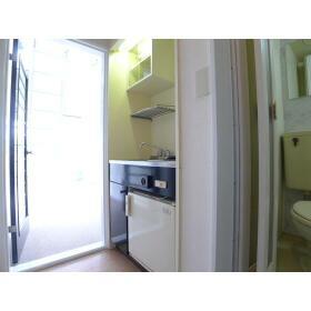 TAP高座 206号室のキッチン