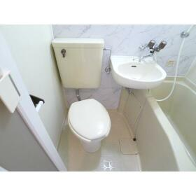TAP高座 206号室のトイレ