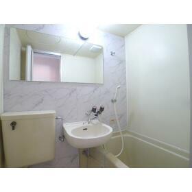 TAP高座 206号室の洗面所