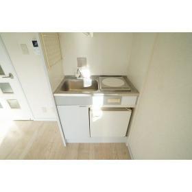アムザック相模 402号室のキッチン
