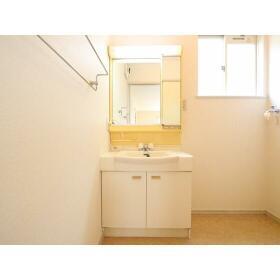 金子テラスハウスの洗面所