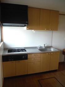 黒川ハイツ 101号室のキッチン