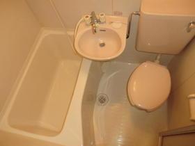 旭マンション 203号室の風呂