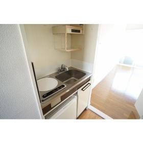 エトス大和 205号室のキッチン