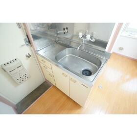 長谷川ハイツ 103号室のキッチン