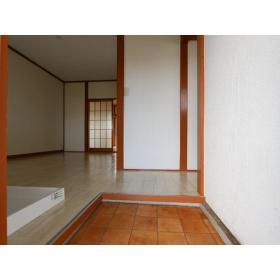 栗原荘 203号室の玄関