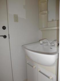 VILLA 8 202号室の洗面所