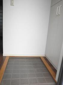 VILLA 8 202号室の玄関