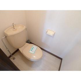 レスポワール渋谷 202号室のトイレ