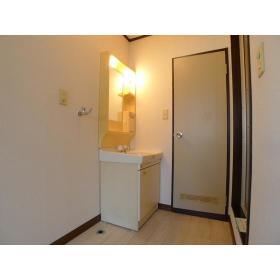 レスポワール渋谷 202号室の洗面所