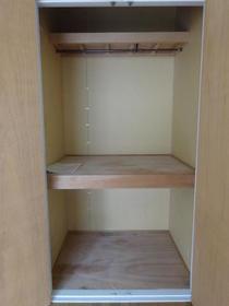 アルカディアドリームD棟 205号室の収納