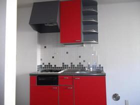 ヴィラクニユキ 103号室のキッチン