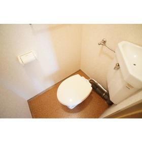 ローズハイツ 201号室のトイレ