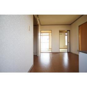 ローズハイツ 201号室の玄関