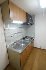 アビンズ相模大野 204号室のキッチン