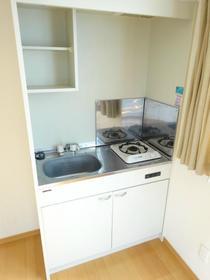 トリムビル 202号室のキッチン