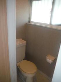 中芳ハイツ 201号室のトイレ