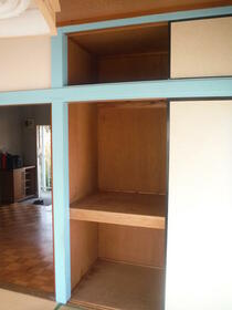 中芳ハイツ 201号室の収納
