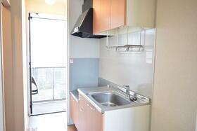 グランシードKB 204号室のキッチン