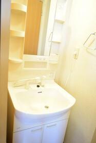 グランシードKB 204号室の洗面所