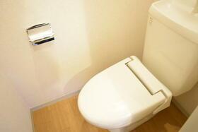 グランシードKB 204号室のトイレ
