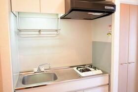 ドミールA 101号室のキッチン