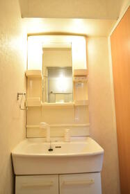 ドミールA 101号室の洗面所