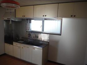 観月荘 201号室のキッチン