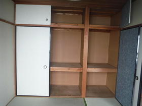 観月荘 201号室の収納