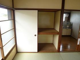 仲戸川貸家の収納