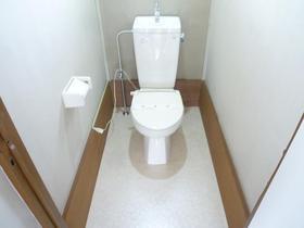 仲戸川貸家のトイレ