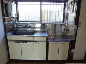 仲戸川喜江貸家のキッチン