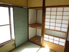 仲戸川喜江貸家の収納