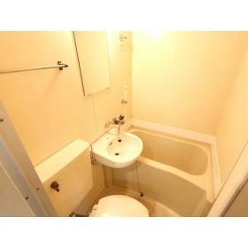 マリカ2 204号室の風呂