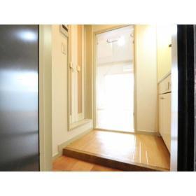 マリカ2 204号室の玄関